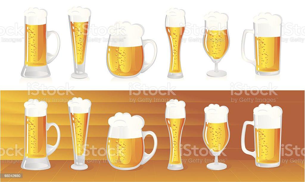 Bier – Vektorgrafik