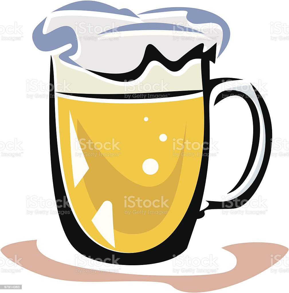 Beer royalty-free beer stock vector art & more images of alcohol
