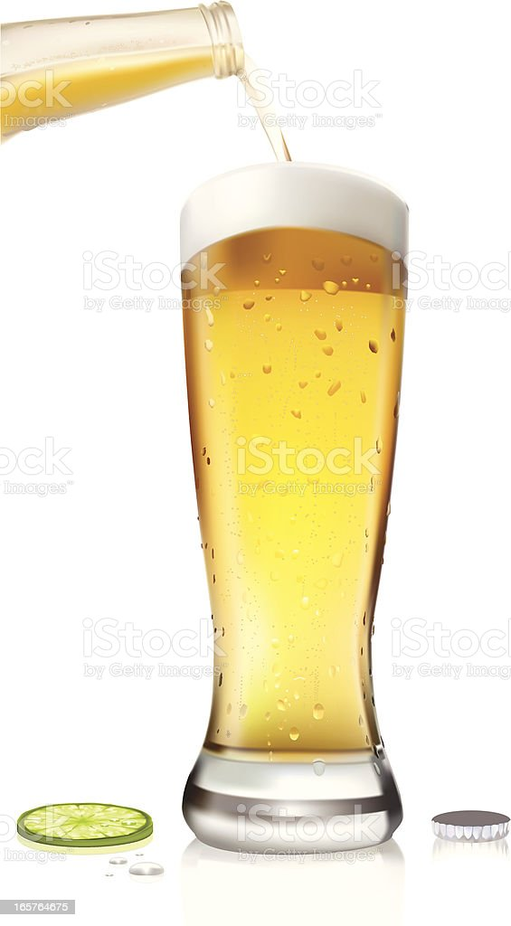 Beer - Vector Illustration royalty-free beer vector illustration stock vector art & more images of alcohol