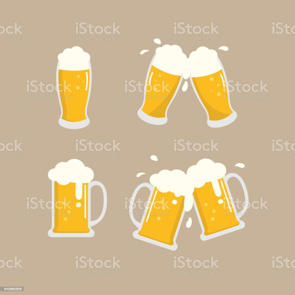 beer vector - illustrazione arte vettoriale