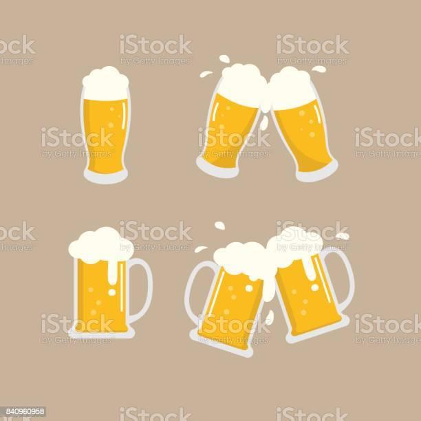 맥주 벡터 0명에 대한 스톡 벡터 아트 및 기타 이미지