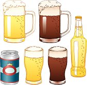 Vector illustration of beer. EPS10, AI CS, high res jpeg included.
