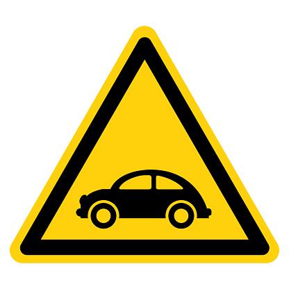 Beetle Car Symbol Sign,Vector Illustration, Isolate On White Background Label. EPS10