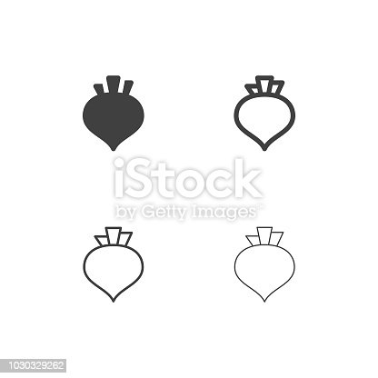 Beetroot Icons Multi SeriesVector EPS File.