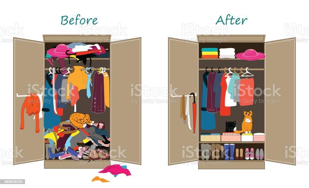 royalty free closet clip art vector images illustrations istock rh istockphoto com empty closet clipart clothes closet clipart