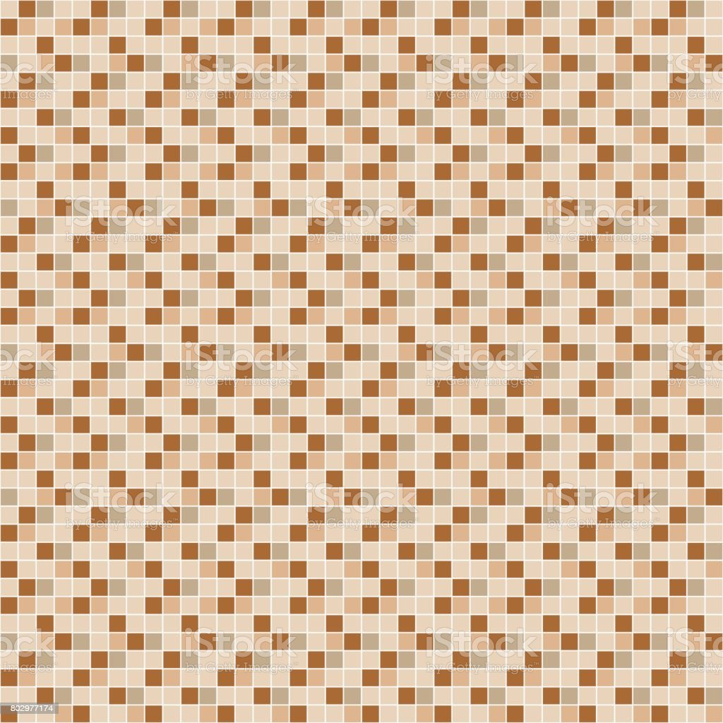 Beige and brown ceramic tile mosaic pattern stock vector art more beige and brown ceramic tile mosaic pattern royalty free beige and brown ceramic tile dailygadgetfo Images