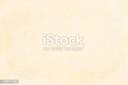 istock Beige and white coloured textured checkered blank empty vector backgrounds with subtle maze pattern all over 1328772487