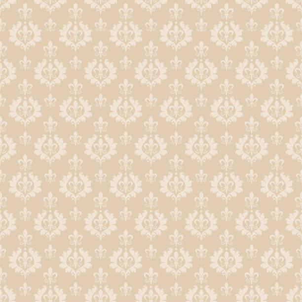 beige hintergrund, nahtlose muster. geeignet für design buch cover, poster, wallpaper, einladung, karten. - tapete stock-grafiken, -clipart, -cartoons und -symbole