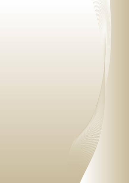 beige color line background vector art illustration