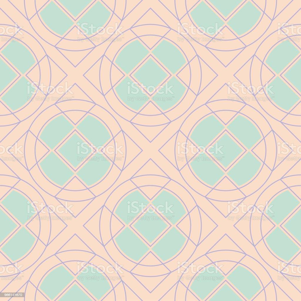 Beige gekleurde naadloze achtergrond. Naadloze patroon - Royalty-free Abstract vectorkunst