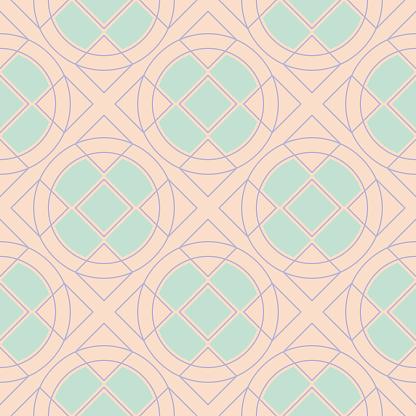 Beige Gekleurde Naadloze Achtergrond Naadloze Patroon Stockvectorkunst en meer beelden van Abstract