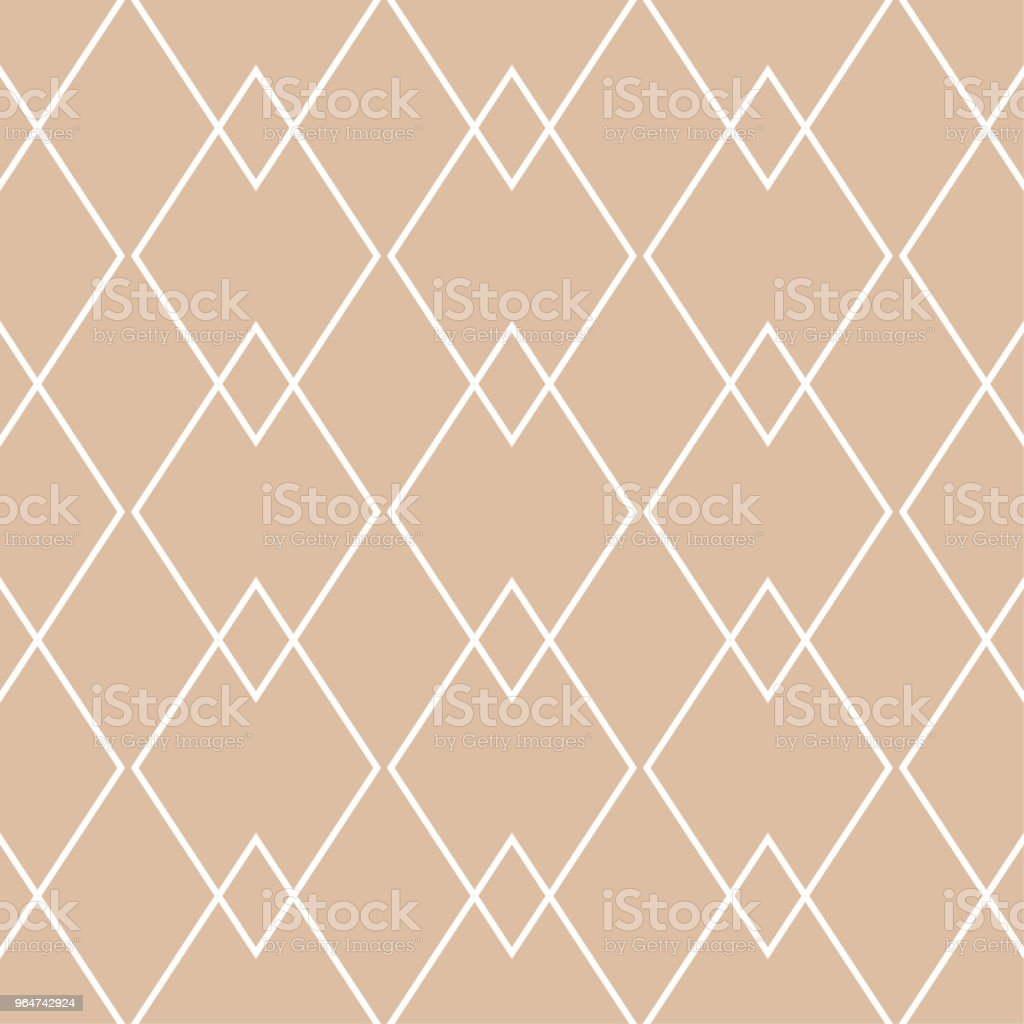 Beige geometric ornament. Seamless pattern royalty-free beige geometric ornament seamless pattern stock vector art & more images of abstract