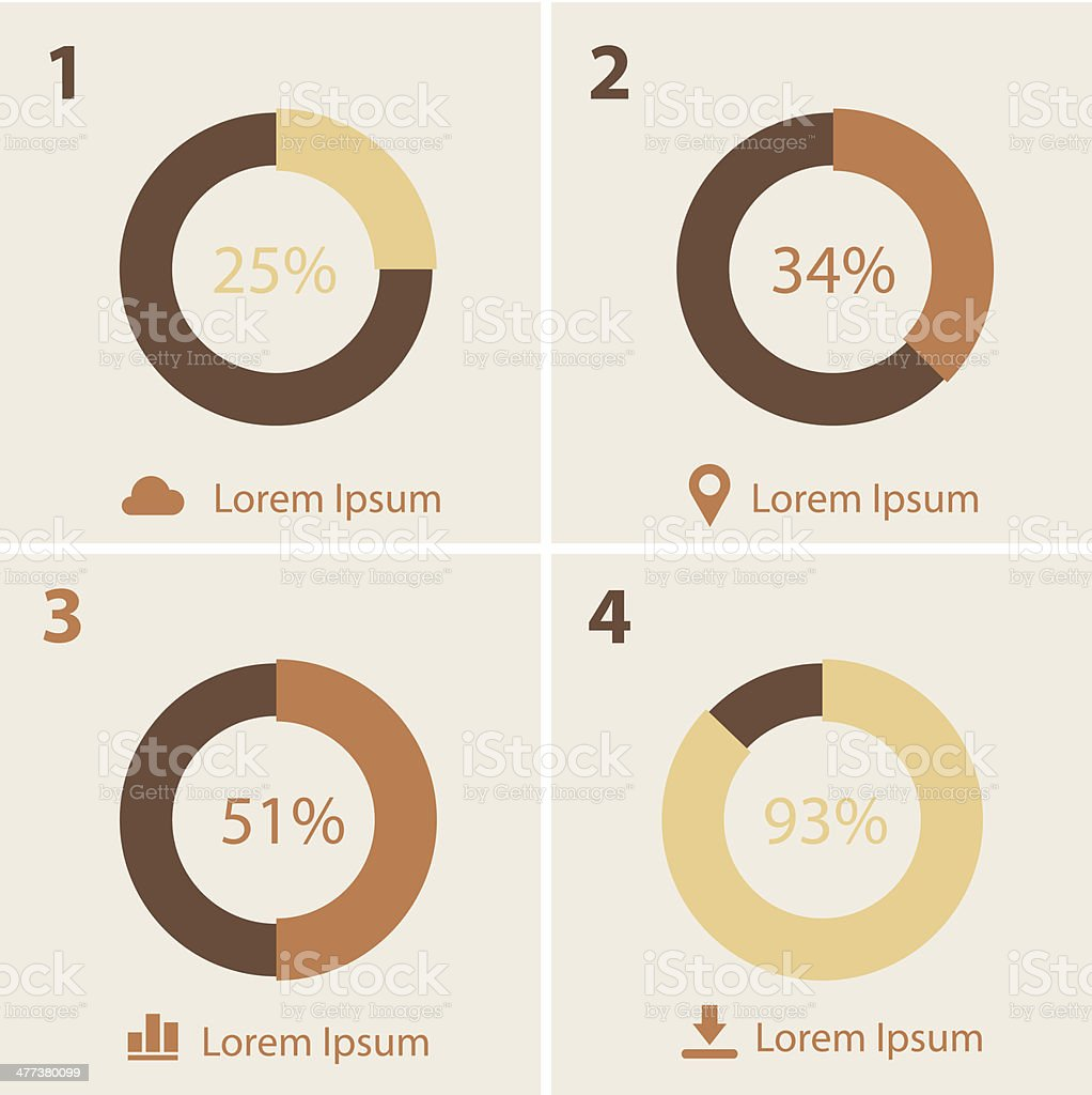 Beige infographics royalty-free beige infographics stock vector art & more images of beige