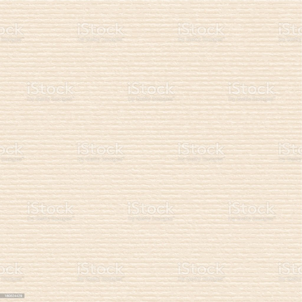 Beige paper with a cream ribbed tone vector art illustration