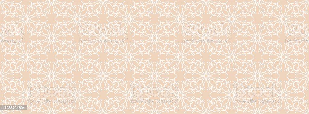 Beige Seamless Pattern Retro Style 8090s Mosaic Textures