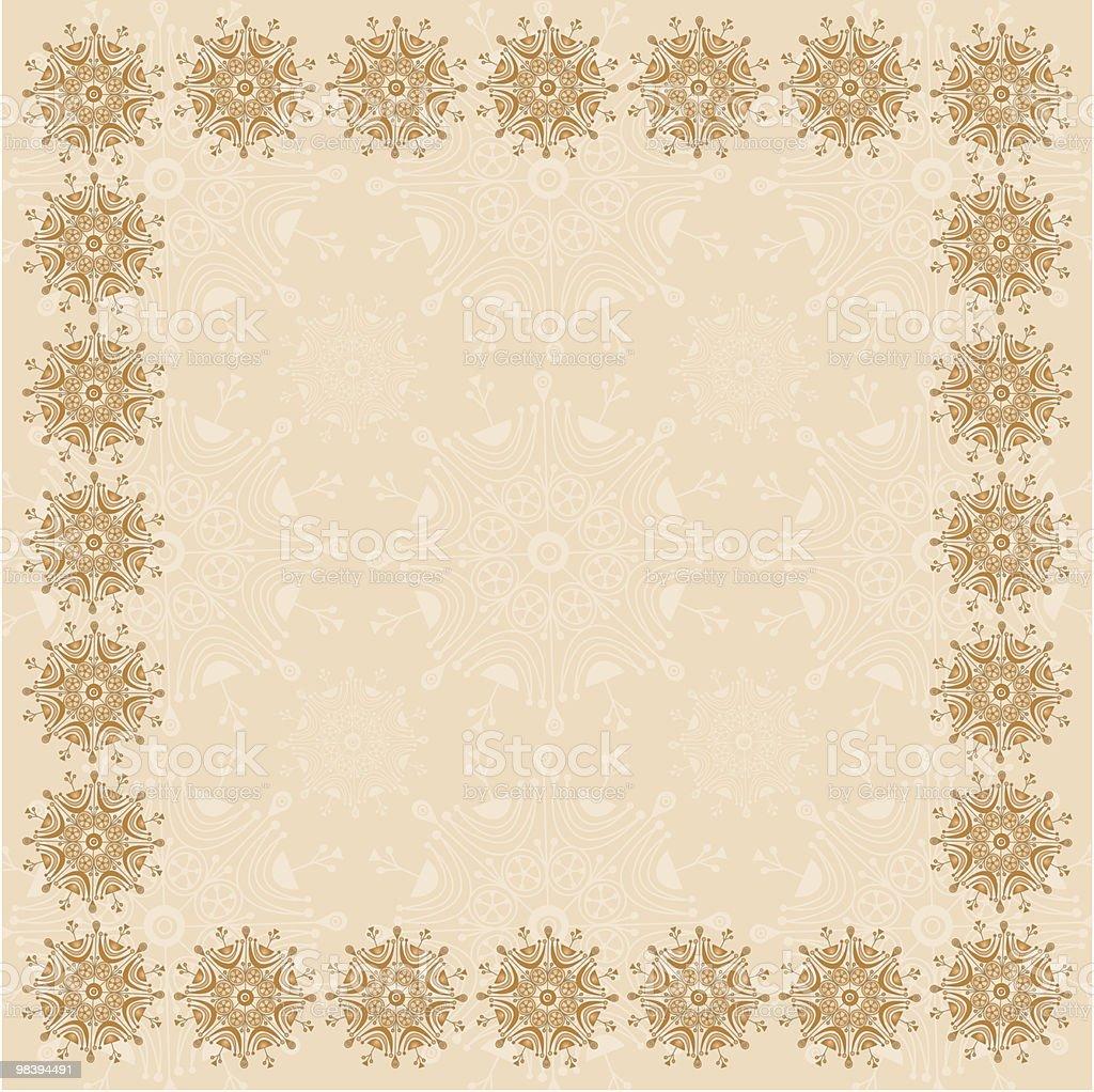 Beige Square Design Frame royalty-free beige square design frame stock vector art & more images of beige