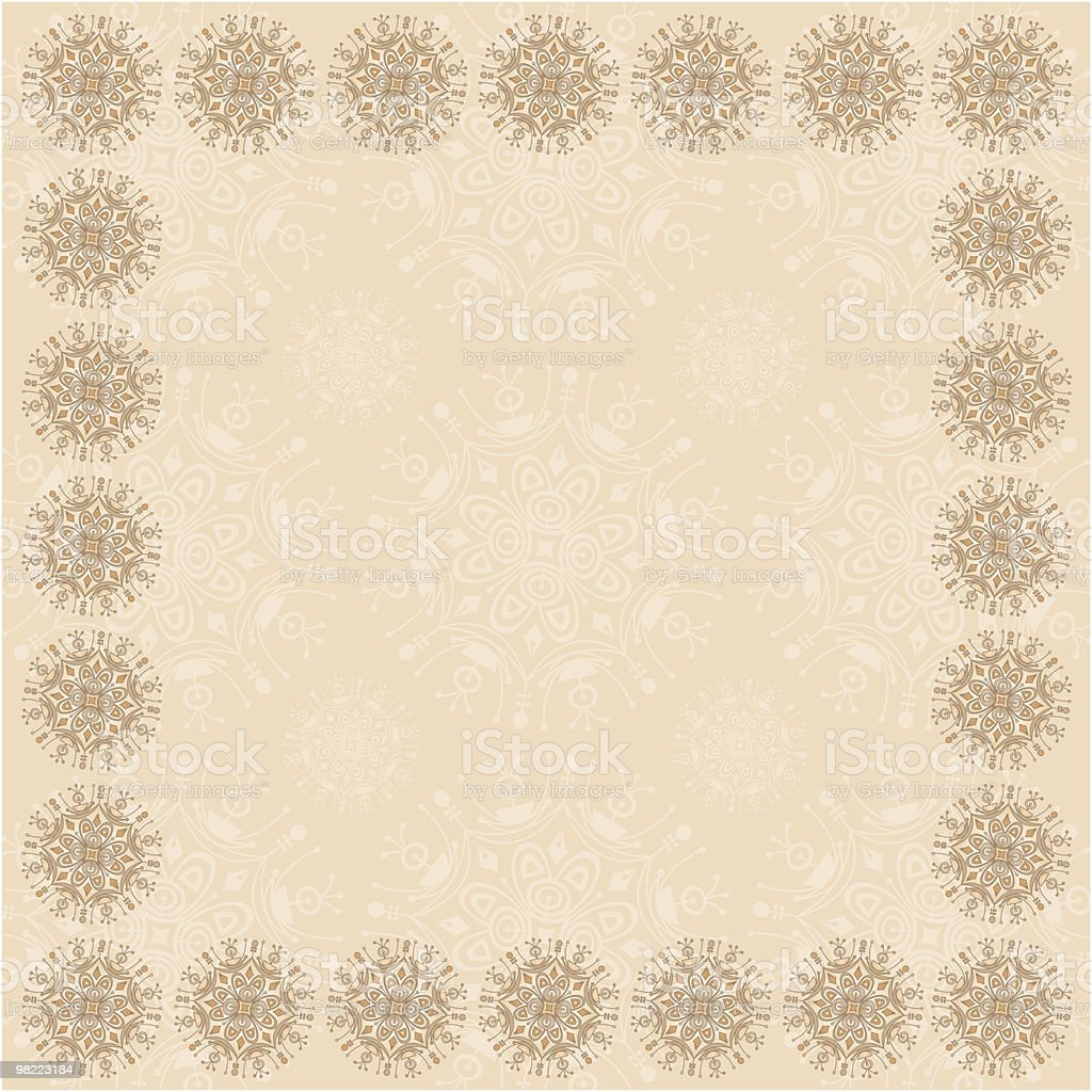 Beige Square Frame royalty-free beige square frame stock vector art & more images of beige