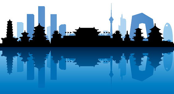 Beijing Skyline (All Buildings Are Complete and Moveable)