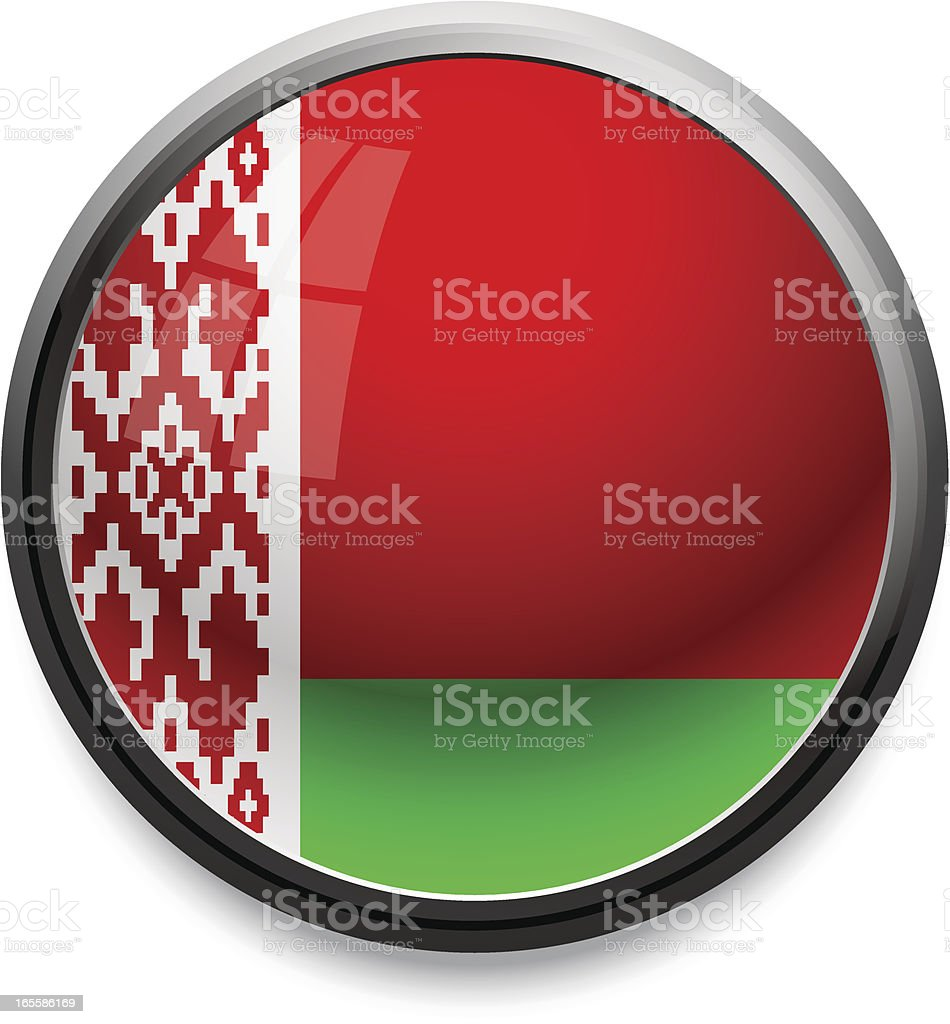 Belarus - flag icon royalty-free stock vector art