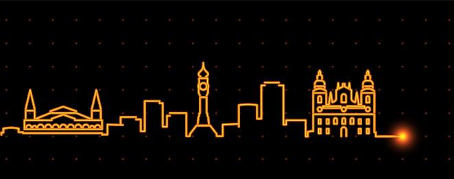 Belem Light Streak Skyline Profile