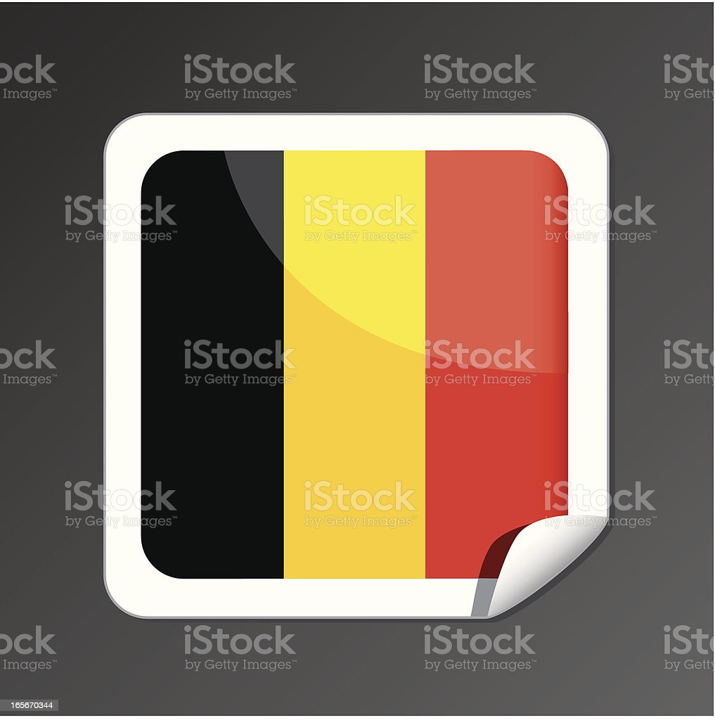 Belgium flag button royalty-free belgium flag button stock vector art & more images of belgian culture