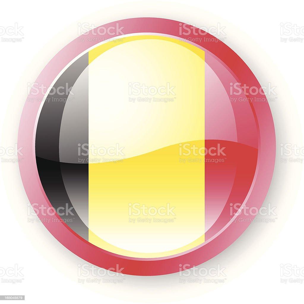 Belgium Flag Icon royalty-free stock vector art