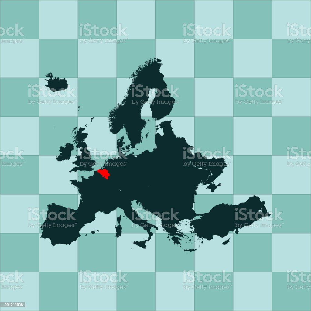 Belgium map royalty-free belgium map stock vector art & more images of abstract