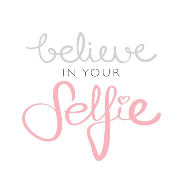 Buenas Frases Para Selfie Vectores Libres De Derechos Istock