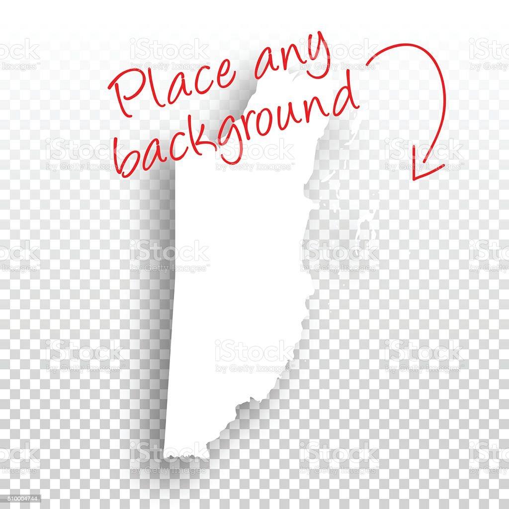 Belize Map For Design Blank Background Stock Vector Art & More ...