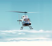Bell 206B Helicopter