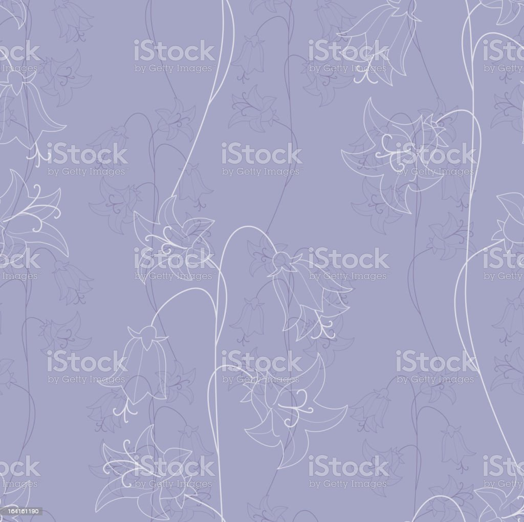 bellflower シームレス ベクターアートイラスト