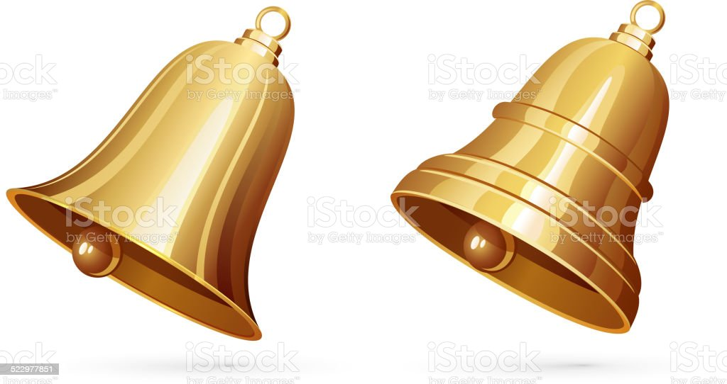 Bells vector art illustration