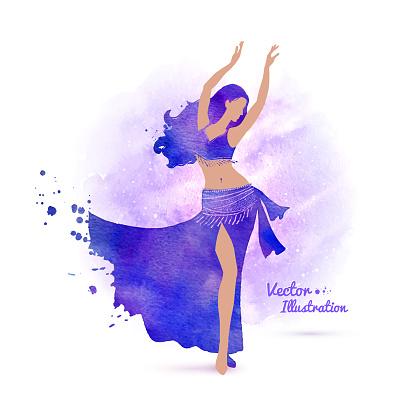 Belly dancer.