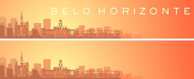 Belo Horizonte Beautiful Skyline Scenery Banner