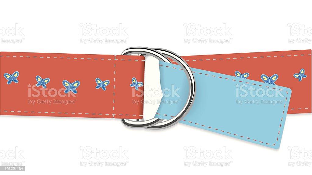 Belt vector art illustration