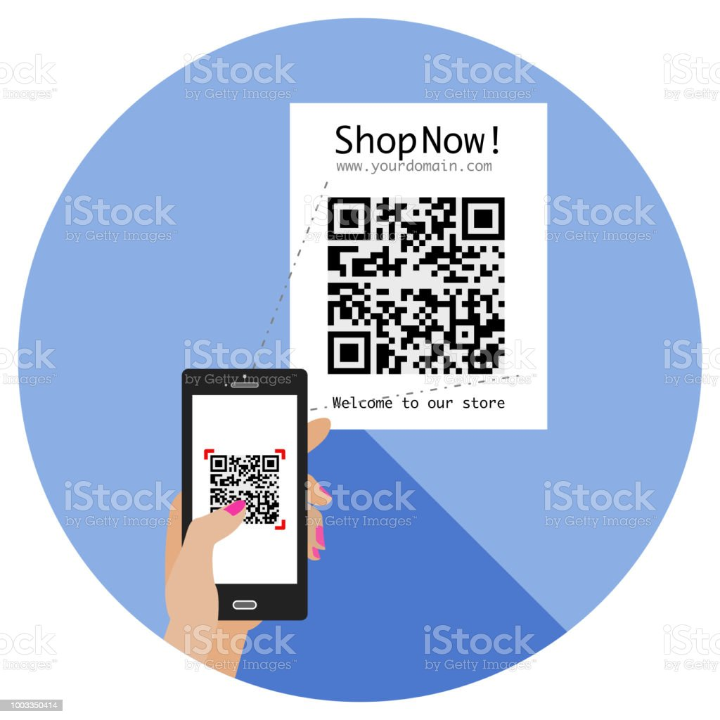 Benefits Of Qr Code In A Digital Lifestyle Stock