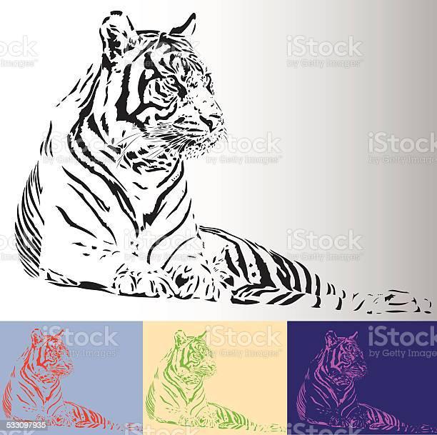 Bengal tiger illustration vector id533097935?b=1&k=6&m=533097935&s=612x612&h=gr932s5on0jjnyaqsow di5bmaqxbe4uiohw9gygk5e=