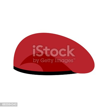 4d800eac1ae Beret Military Red Soldiers Cap Army Hat War Barret Stock Vector Art   More  Images of Achievement
