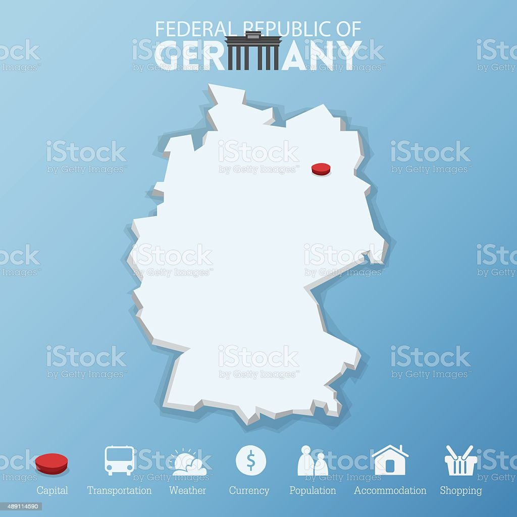 Berlin city federal republic of germany map stock vector art berlin city federal republic of germany map royalty free stock vector art gumiabroncs Choice Image