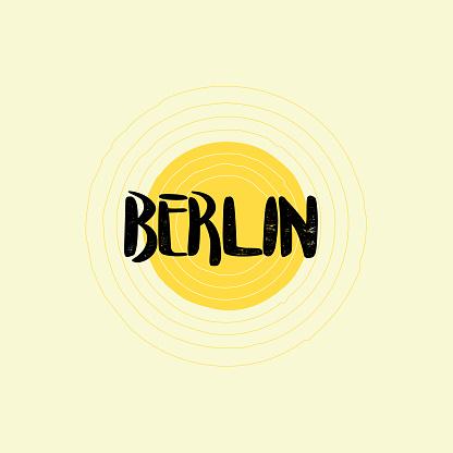 Berlin Lettering Design