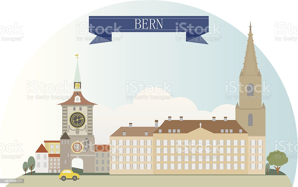 Bern royalty-free stock vector art