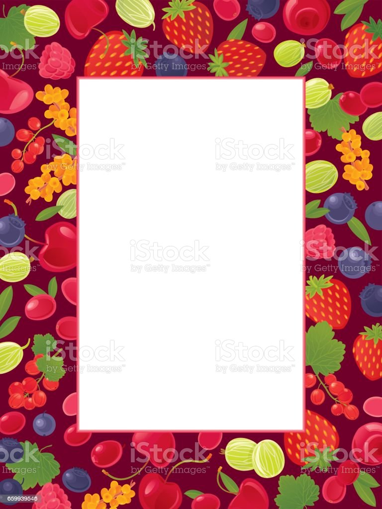 Berries background royalty-free berries background stock vector art & more images of advertisement