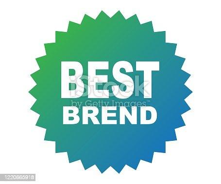 best brand badge, label, banner.