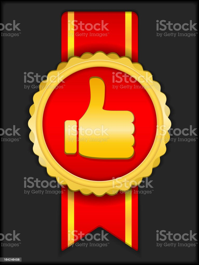 Best Choice Medal royalty-free stock vector art