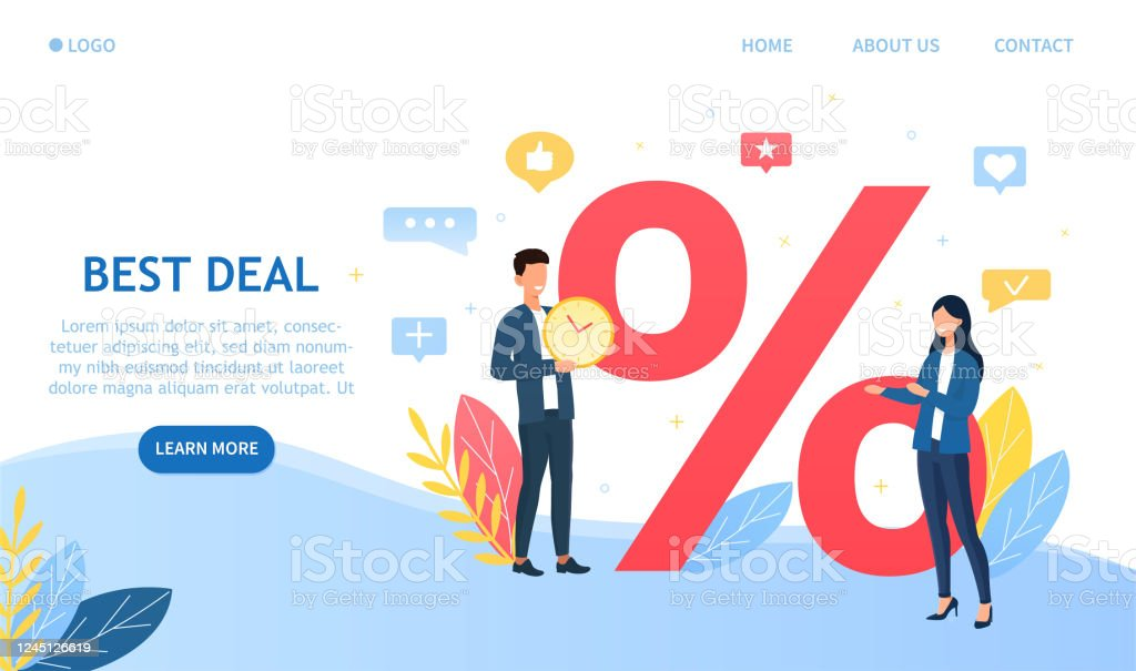 Best Deals Shopping Sales Discount Percentage Stock Illustration Download Image Now Istock