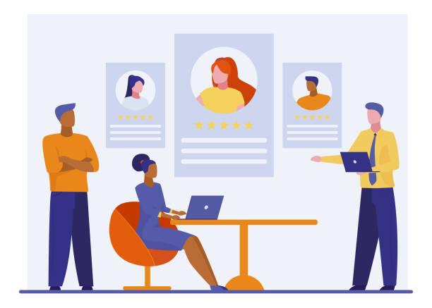 1,425 Staffing Agency Illustrations & Clip Art - iStock