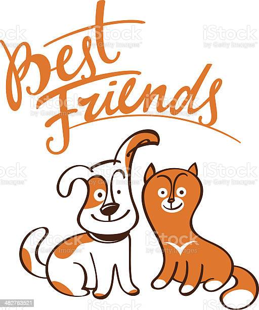Best friends cat and dog vector id482763521?b=1&k=6&m=482763521&s=612x612&h=clfcez6mwyo9fu9fr84xlwz 8upo5ijr3cr retrr6i=