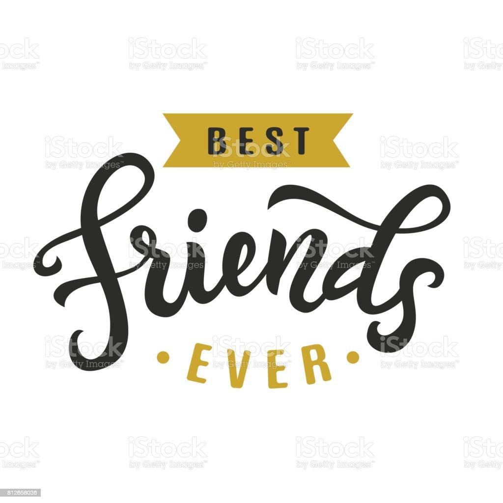 今までの親友友情日のかわいいポスター のイラスト素材 812658036 istock