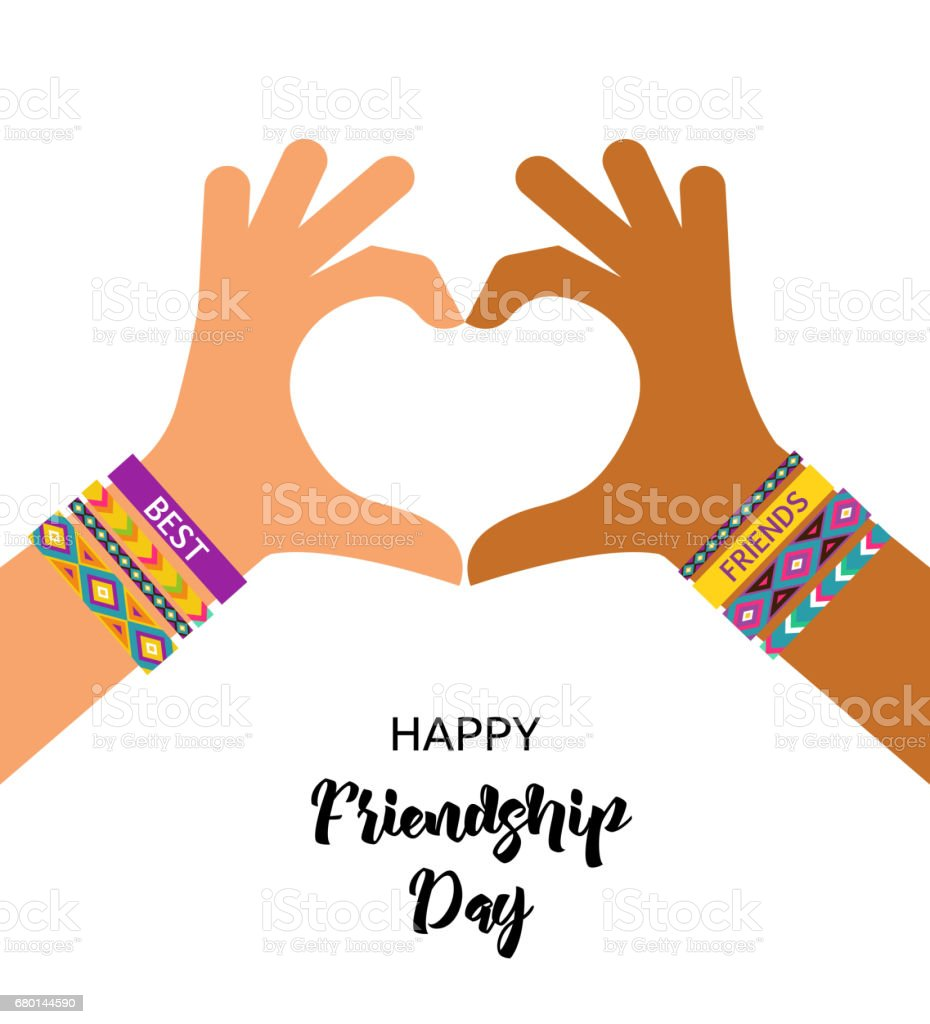 Friends Forever Friendship Day Card Friendship Day T