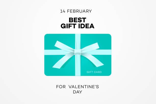 illustrazioni stock, clip art, cartoni animati e icone di tendenza di best gift idea web banner for valentines day, gift certificate, online shopping, vector illustration. - coupon